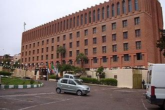 Economy of Algeria - Hotel Zianides in Tlemcen.