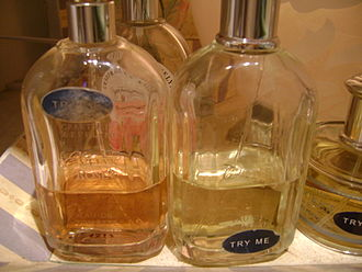 Eau de toilette - Bottles of eau de toilette