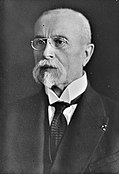 Tomas Garrigue Masaryk, Bain News Service (Library of Congress, Bain Collection) crop.jpg