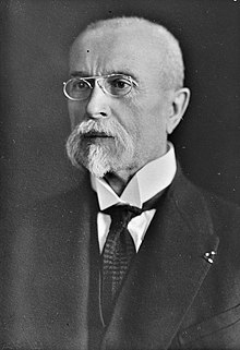 Tomáš Garrigue Masaryk, Bain News Service (Library of Congress, Bain Collection) crop.jpg