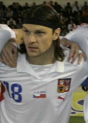 Tomáš Ujfaluši - Ujfaluši with the Czech Republic national team (2009).