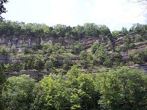 Kentucky River Palisades - Vantage point from Tom Dorman Nature Preserve