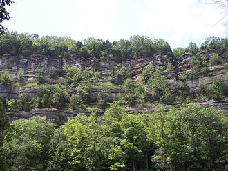 Kentucky River Palisades - Vantage point from Tom Dorman Nature Preserve