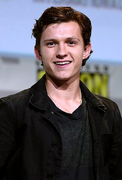 Tom Holland vid San Diego Comic-Con 2016.