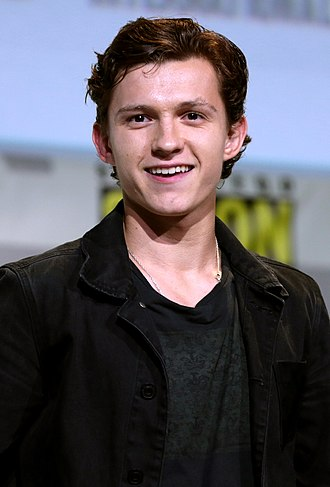 Tom Holland (actor) - Holland at the 2016 San Diego Comic-Con promoting Spider-Man: Homecoming