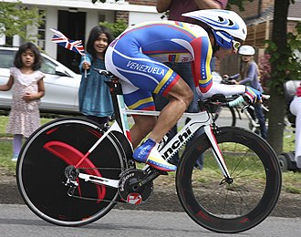 Venezuela at the 2012 Summer Olympics - Tomás Gil finished thirty third in men's time trial.