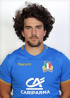 Tommaso Boni Italian rugby union player