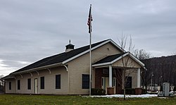 Town hall, in Trout Creek
