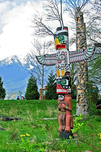 "Religious studies - Totem poles reflect the beliefs of the Indigenous peoples of the Pacific Northwest Coast; some religious studies scholars argue that the term ""religion"" is too Western-centric to encompass the beliefs and practices of communities such as these"