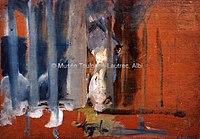 Toulouse-Lautrec - CHEVAL DERRIERE UNE PORTE A CLAIRE VOIE, 1882, MTL.84.jpg