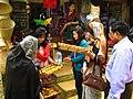 Tourists Buying Chakma Handicrafts In Bandarban, 5 Dec, 2011.jpg