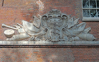 Board of Ordnance - Arms of the Board of Ordnance at the Tower of London, New Armouries.