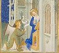 Très Riches Heures du Duc de Berry - Folio 26r - The Annunciation - detail - characters.jpg