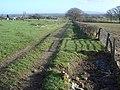 Track on Brickbarns Farm - geograph.org.uk - 647368.jpg