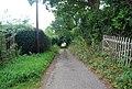 Track to Pinstraw Farm, Park Corner - geograph.org.uk - 1493067.jpg