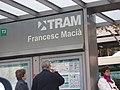 Tram Estació Francesc Macià.JPG