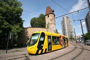 Mulhouse tramway - Image: Trammulhouse