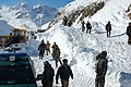 Treating those wounded in the 2010 Salang Avalanches -e.jpg