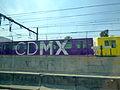 Trenes de la Estación A del Metro de la Ciudad de México 03.JPG