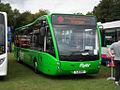 Trent Barton bus 809 (YJ11 ENO), 2011 Trans Lancs bus rally.jpg