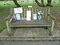 Trent Park Cemetery bench.JPG