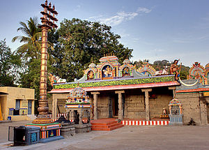 Tirusulam - Tirusoolanathar temple at Tiruslam