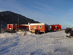 Queen Maud Land - Norway's main research station, Troll, in Queen Maud Land.