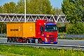 Truck Spotting on the A16 Direction Zwijndrecht 19 04 2019.... Not the Best spot with the Barrier , But better than Nowt . (40677471243).jpg