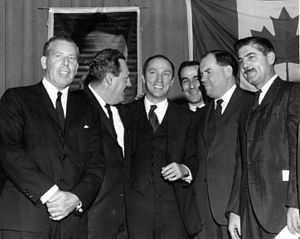 Pierre Trudeau - Trudeau after being nominated to represent the riding of Mount Royal, June 6, 1965