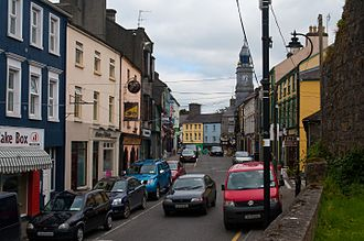 Tuam - High Street, looking east