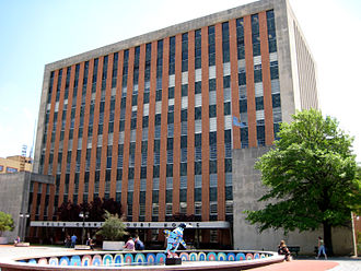 Tulsa County, Oklahoma - Image: Tulsa County Courthouse