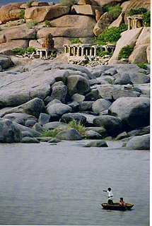 Tungabhadra River River in southern India