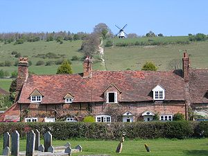 The Vicar of Dibley - The village of Turville in Buckinghamshire stands in for the village of Dibley