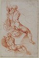 Two Studies of a Seated Male Nude Seen from the Back MET 1980.17.1.jpg