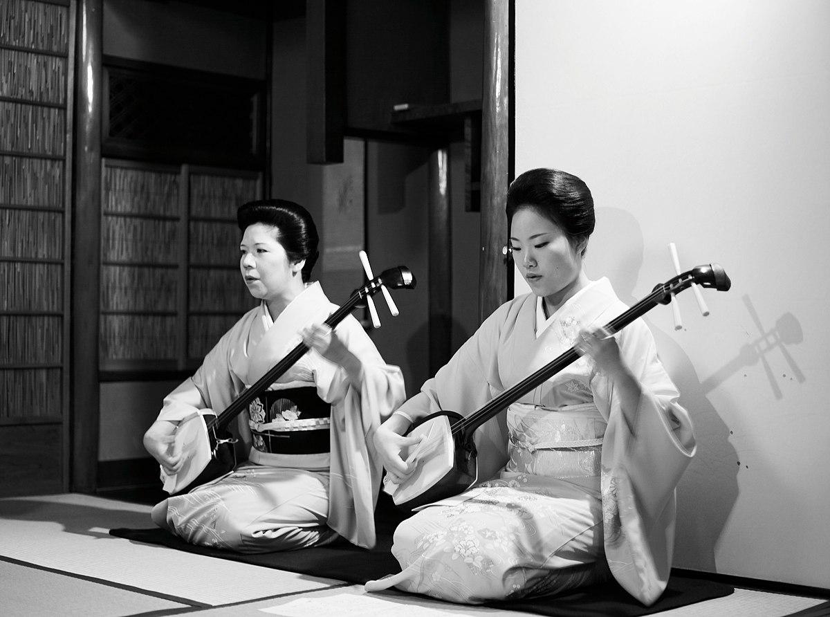 Japanilainen Perhe suku puoli näyttää