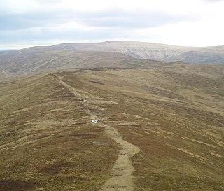 Pen Twyn Glas mountain in United Kingdom
