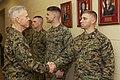 U.S. Marine Corps Gen. James F. Amos, left, the commandant of the Marine Corps, visits Marines at The Basic School at Marine Corps Base Quantico, Va., March 4, 2013 130304-M-LU710-014.jpg