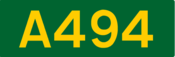 A494 road shield