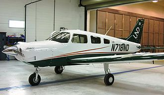 John D. Odegard School of Aerospace Sciences - The first UND Piper Archer produced. UND has a fleet order of 112 aircraft which includes both Piper Archers and Piper Seminoles.