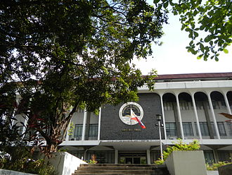 University of the Philippines College of Law - Bocobo Hall, home of the U.P. Law Center