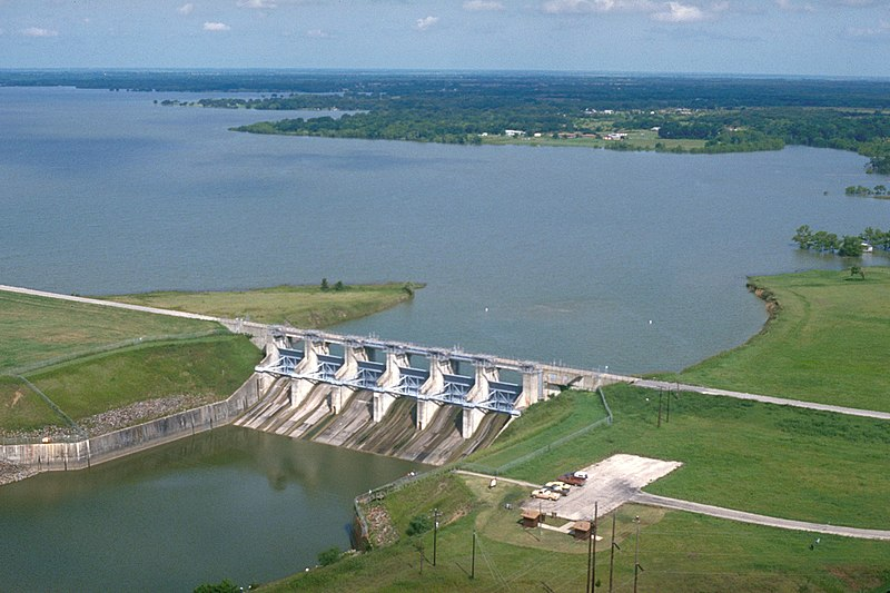 File:USACE Navarro Mills Lake and Dam.jpg