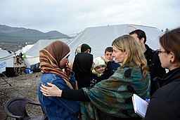 USAID Assistant Administrator Lindborg Interacts With Syrian Refugees (8411500481)