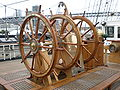 USCGC Eagle steering wheels.JPG