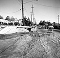 USGS - 1971 San Fernando earthquake - Scarp at Foothill Nursing Home - Street level view.jpg