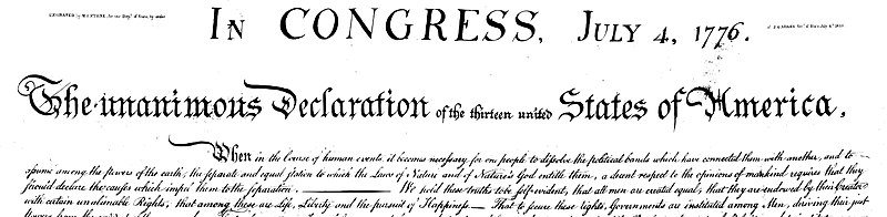 File:US Declaration of Independence Preamble 5000w.jpg
