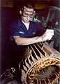US Navy 020219-N-9587P-002 Small motor maintenance aboard ship.jpg