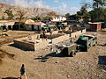 US Navy 050310-N-1464F-013 U.S. Navy Seabees assigned to Naval Mobile Construction Battalion One (NMCB-1), construct a new school for students in Gonaives, Haiti.jpg