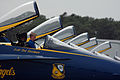 US Navy 050416-N-0295M-507 Opposing Solo, Lt. Cmdr. Theodore J. Steelman, assigned to the U.S. Navy flight demonstration team, the Blue Angels, awaits the cue to exit his F-A-18A Hornet.jpg