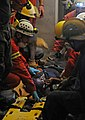 US Navy 100119-N-8878B-767 Search and Rescue teams rescue Hottline Lozoma, a 25-year-old Haitian woman, who was trapped in rubble for eight days.jpg