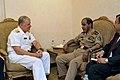 US Navy 100328-N-8273J-035 Chief of Naval Operations (CNO) Adm. Gary Roughead meets with Lt. Gen. Hussein bin Abdulla Hussein al Gobai, deputy chief of the General Staff.jpg
